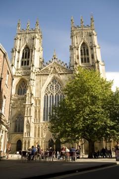 Minster York, Yorkshire, middelalder, katedral, The York Minster, vikinger, vikingtid, romere, romertid, Konstantin den Store, angelsaksere, England, Storbritannia