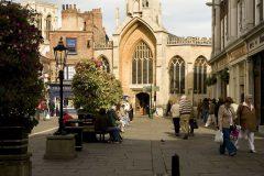 St Helen's Church, York, Yorkshire, middelalder, katedral, The York Minster, vikinger, vikingtid, romere, romertid, Konstantin den Store, angelsaksere, England, Storbritannia