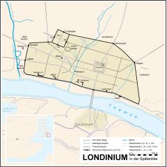 Londinium, London, romertid, British Museum, romerne, middelalder, historisk, Unescos liste over Verdensarven, Tower, England Storbritannia