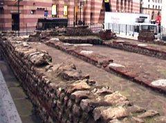 London,City, Mithrastempel, Queen Victoria Street, romerne, middelalder, historisk, Unescos liste over Verdensarven, Tower, England Storbritannia