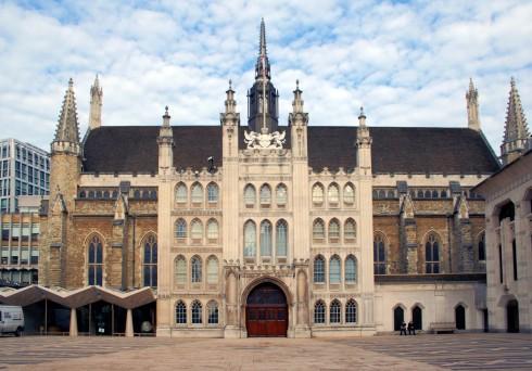 London Guildhall, London, British Museum, romerne, middelader, historisk, Unescos liste over Verdensarven, Tower, England Storbritannia