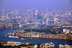 London, panorama, romerne, middelader, historisk, Unescos liste over Verdensarven, Tower, England Storbritannia