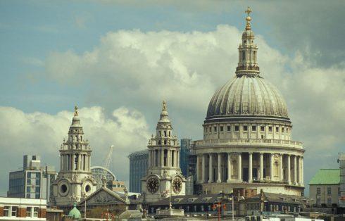 London, St Paul's Cathedral, British Museum, romerne, middelader, historisk, Unescos liste over Verdensarven, Tower, England Storbritannia