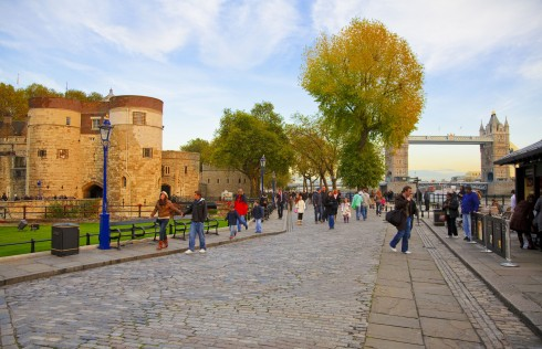 London, romerne, middelader, historisk, Unescos liste over Verdensarven, Tower, England Storbritannia