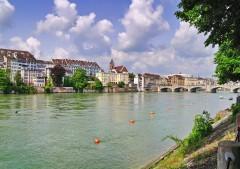 Basel, Münster, Augusta Raurica, Rhinen, romertid, middelalder, kulturseverdigheter, gamlebyen, Marktplatz, St. Alban, Sveits