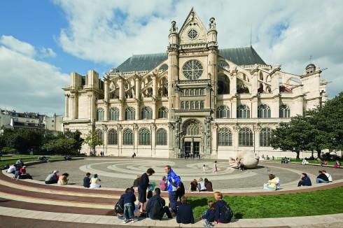 Paris, Eglise Saint-Eustache, Marais, Ile de Cité, Notre Dame, middelalder, Tuilerie, obelisken, Ile de France, Unescos liste over Verdensarven, Seinen, Nord-Frankrike, Frankrike