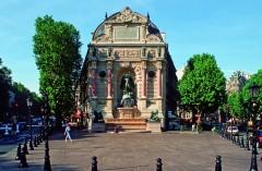 Paris, Latinerkvarteret, Ile de Cité, Notre Dame, middelalder, Tuilerie, obelisken, Ile de France, Unescos liste over Verdensarven, Seinen, Nord-Frankrike, Frankrike
