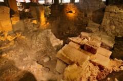 Paris, Crypte archéologique, Ile de Cité, Notre Dame, middelalder, Tuilerie, obelisken, Ile de France, Unescos liste over Verdensarven, Seinen, Nord-Frankrike, Frankrike