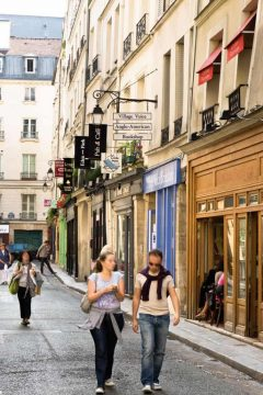 Paris, Quartier Latin, Latinerkvarteret, Louvre, Tuilerie, obelisken, Ile de Cité, Notre Dame, Ile de France, Unescos liste over Verdensarven, Seinen, Nord-Frankrike, Frankrike