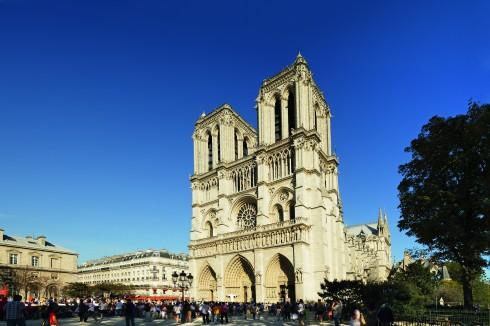 Paris, Cathedrale Notre Dame, Louvre, Tuilerie, obelisken, Ile de Cité, Notre Dame, Ile de France, Unescos liste over Verdensarven, Seinen, Nord-Frankrike, Frankrike