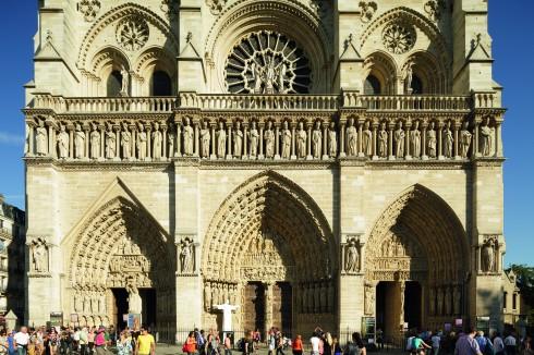 Paris, Cathédrale Notre Dame, Louvre, Tuilerie, obelisken, Ile de Cité, Notre Dame, Ile de France, Unescos liste over Verdensarven, Seinen, Nord-Frankrike, Frankrike