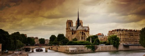 Paris, Ile de Cité, Notre Dame, Ile de France, Unescos liste over Verdensarven, Seinen, Nord-Frankrike, Frankrike