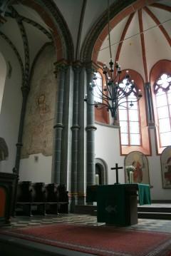 St. Peters Kirche, Bacharach, Rhinen, Rheintal, romertid, middelalder, Unescos liste over Verdensarven, Vest-Tyskland