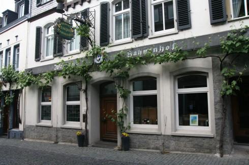 Weingut Toni Jost, Hahnhof, Bacharach, Rhinen, Rheintal, romertid, middelalder, Unescos liste over Verdensarven, Vest-Tyskland