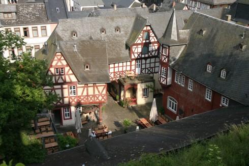 Posthof, Bacharach, Rhinen, Rheintal, romertid, middelalder, Unescos liste over Verdensarven, Vest-Tyskland