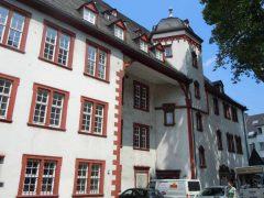 Koblenz, Alte Burg, Deutsches Eck, Mosel, Rhinen, Rheintal, romertid, middelalder, Unescos liste over Verdensarven, Vest-Tyskland