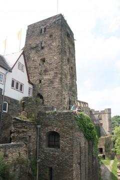 Rhinen, Burg Rheinfels, Rheintal, romertid, middelalder, Unescos liste over Verdensarven, Vest-Tyskland