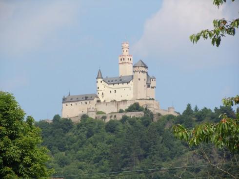 Rhinen, Marksburg, Rheintal, romertid, middelalder, Unescos liste over Verdensarven, Vest-Tyskland
