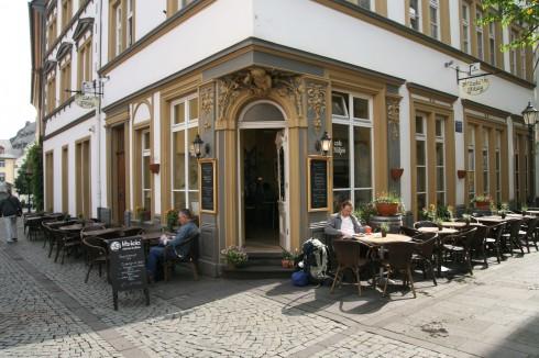 Koblenz, Deutsches Eck, Rhinen, Rheintal, romertid, middelalder, Unescos liste over Verdensarven, Vest-Tyskland
