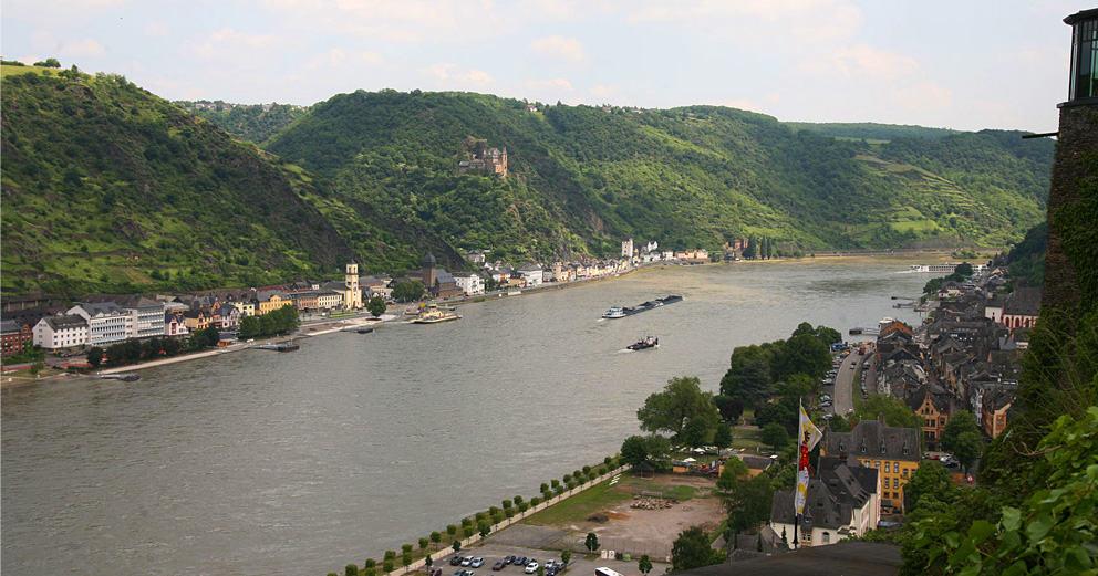 Rhindalen fra Koblenz til Rüdesheim, ReisDit.no