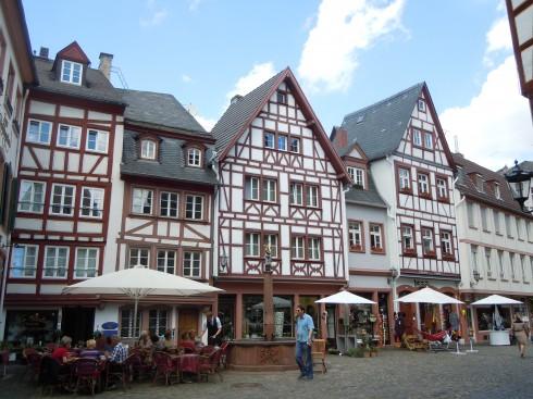 Mainz - Mainz, Gutenberg, Worms, Speyer, Dom St. Martin, Kaiser, Kurfyrster, Moguntiacum, romertid middelalder, renessanse, barokk, Rhinen Tyskland