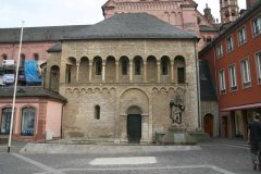 St Gotthards kapell,  Mainz - Mainz, Gutenberg, Worms, Speyer, Dom St. Martin, Kaiser, Kurfyrster, Moguntiacum, romertid middelalder, renessanse, barokk, Rhinen, Tyskland