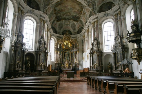 Mainz, Augustinerkirche, Gutenberg, Worms, Speyer, Dom St. Martin, Kaiser, Kurfyrster, Moguntiacum, romertid middelalder, renessanse, barokk, Rhinen, Tyskland