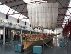 Antiken Schiffmuseum Mainz - Mainz, Gutenberg, Worms, Speyer, Dom St. Martin, Kaiser, Kurfyrster, Moguntiacum, romertid middelalder, renessanse, barokk, Rhinen, Tyskland