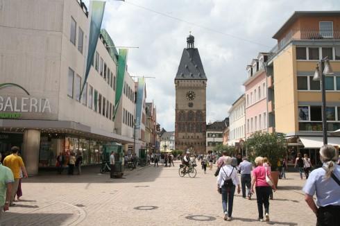 Speyer, Unescos liste over Verdenarven, Rhinen, Kaiserdom, jødenes Shphira, middelalder, Vest-Tyskland