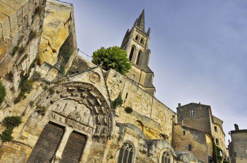 St Émilion, Saint Emilion, vin, Unescos liste over Verdensarven, romertid, middelalder, Monolittkirken, Bordeaux, Pomerol, Fronsac, Bordeaux, Vest-Frankrike