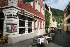 Heidelberg, Altstadt, Marktplatz, Alte Brücke, Neckar, Schloss Heidelberg, Unescos liste over Verdensarven, Baden-Württemberg, Sør-Tyskland
