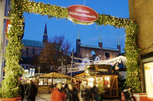 Lübeck, julemarked, Weihnachtsmarkt, Unescos liste over Verdensarven, Unesco, Tyskland