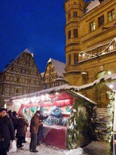 Rothenburg ob der Tauber, julemarked, Weihnachtsmarkt, Unescos liste over Verdensarven, Unesco, Tyskland