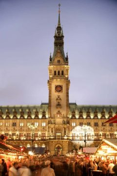Hamburg, julemarked, Weihnachtsmarkt, Unescos liste over Verdensarven, Unesco, Tyskland