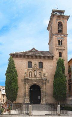 Granada, Iglésia Santa Ana, Alhambra, Generalife, Barrio del Albaicín, Bib-Rambla, Plaza Nueva, Capilla Real, Santa Ana, San Nicholas, San Miguel de Bajo, Unescos liste over Verdensarven, Andalucia, Spania