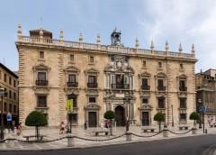 Granada, Palacio Real Chancelleria , Alhambra, Generalife, Barrio del Albaicín, Bib-Rambla, Plaza Nueva, Capilla Real, Santa Ana, San Nicholas, San Miguel de Bajo, Unescos liste over Verdensarven, Andalucia, Spania