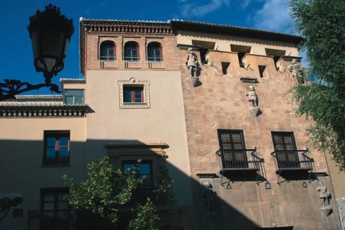 Granada, Casa de los Tiros, Alhambra, Generalife, Barrio del Albaicín, Bib-Rambla, Plaza Nueva, Capilla Real, Santa Ana, San Nicholas, San Miguel de Bajo, Unescos liste over Verdensarven, Andalucia, Spania
