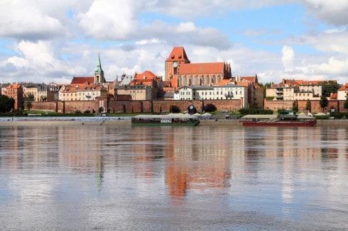 Torun, gamlebyen, St Johannes-katedralen, markedsplassen, rådhuset, Unescos liste over Verdensarven, Visla, Den tyske orden, Teutonerborgen, historisk, middelalder, Nord-Polen, Polen