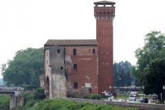 La Citadella, Pisa, pisansk romansk, arkitektur, middelalder, renessanse, Arno, Campo dei Miracoli, katedral, baptisteria, kampanile, Unescos liste over Verdensarven, historisk bydel, museer, gamleby, etruskerne, Toscana, Midt-Italia, Italia