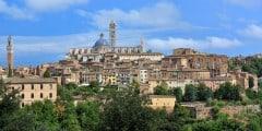 Siena, Unescos liste over Verdensarven, historisk, etruskere, middelalder, gamleby, romensk, gotisk, katedral, Toscana, Midt-Italia, Italia
