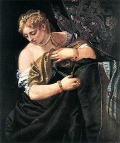 Lucretia, 1580-årene