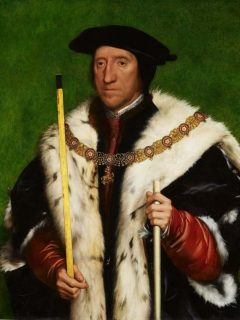 Thomas Howard, Third Duke of Norfolk malt av Hans Holbein d.y. ca år 1535