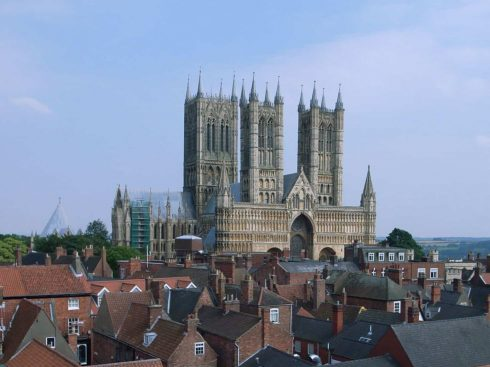 Lincoln, Cathedral, Minster, Newport Arch, Bailgate, Castle Hill, England, Brayford Pool, romertid, middelalder, Castle Hill, Magna Carta, Steep Hill, early british gothic
