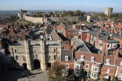 Lincoln, Lincoln Castle, Lincoln Cathedral, Minster, England, Brayford Pool, romertid, middelalder, Castle Hill, Magna Carta, Steep Hill, Bailgate, early british gothic