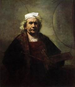 Selvportrett av Rembrandt van Rijn, malt år 1661