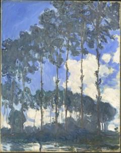 """""""Popler ved elven Epte"""", Claude Monet 1891"""