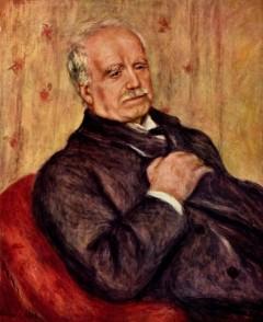 Paul Durand-Ruel portrettert av Pierre-Auguste Renoir år 1910