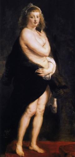 Et av Rubens mest kjente: Hans andre kone, Helene Fourmant, malt cirka år 1638. Kunsthistorisches Museum, Vienna