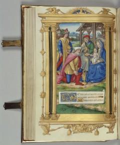 Manuskript illustrert av Jean Pinoche år 1501.