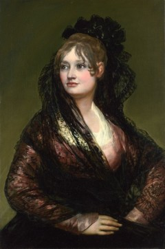 Portrett av Doña Isabel de Porcel, 1805. Kilde: Wikipedia